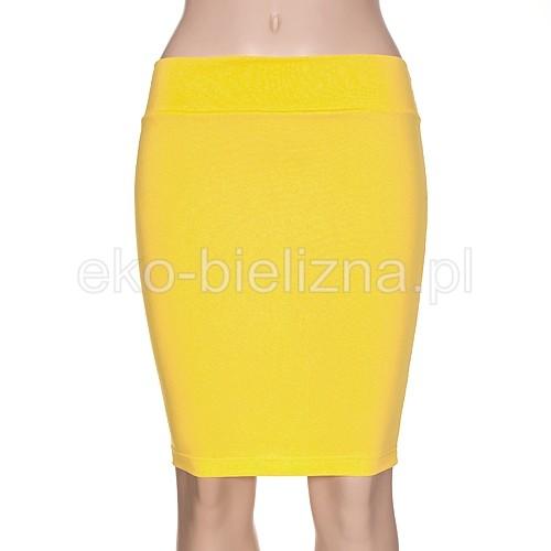 Spódniczka Ołówkowa - Żółta
