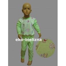 Piżamka dziewczęca - Kotki - seledyn ( rozmiary: 98 ; 104 ; 110 )